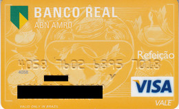 Brasil Banco Real , Visa - Credit Cards (Exp. Date Min. 10 Years)