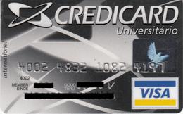Brasil CreditCard Universitario , Visa - Credit Cards (Exp. Date Min. 10 Years)