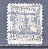 U.S. 566      Perf.  11   (o)   OHIO   1918-20   Issue - United States