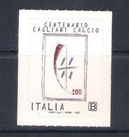Italia • Italy (2020) Calcio/football: Centenario Cagliari Calcio - Single Stamp (MNH) - Otros