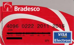 Brasil Bradesco 2007 , Visa - Credit Cards (Exp. Date Min. 10 Years)