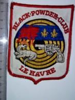 ECUSSON CLUB DE TIR     LE HAVRE   BLACK  POWDER - Sports