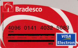 Brasil Bradesco , Visa - Credit Cards (Exp. Date Min. 10 Years)