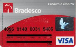 Brasil Bradesci Credito E Debito , Visa - Credit Cards (Exp. Date Min. 10 Years)
