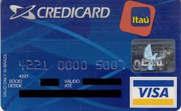 Brasil CreditCard Itau , Visa - Credit Cards (Exp. Date Min. 10 Years)