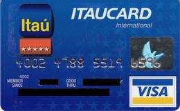 Brasil Itaucard International , Visa - Credit Cards (Exp. Date Min. 10 Years)