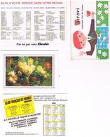 Calendriers Lot De  4   1984+1984+1983+kiravi De 1776 A 2000 Choix Des Vins - Calendars