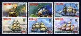 Belize 1982, Schif - Ship - Bateaux - Schip CTO (o), Used - Belize (1973-...)