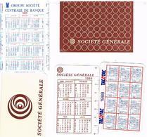 Calendriers Lot De  5  1984+1985+1985+1988+1986 - Calendars