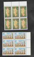 FRANCE / 1998 / Y&T SERVICE N° 118/119 ** : UNESCO (Pompéi/Île De Pâques) X 6 Dont 3 BdF - Neufs