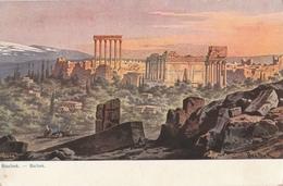 Cartolina - Postcard / Non Viaggiata - Unsent /  Libano -  Balbek, Rovine - Liban