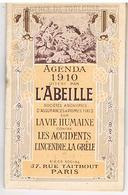 Calendriers Agenda Assurances Abeille 1910 - Calendars