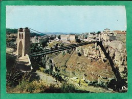 Constantine Le Pont De Sidi-M'Cid Et La Casbah 2scans - Constantine