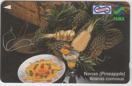 MALAYSIA (Uniphonekad)- Nenas (Pineapple) Ananas Comosus , CN:91MSAC, 1995, TIRAGE 400.000, Used - Malaysia