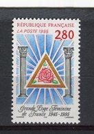 FRANCE - Y&T N° 2967** - MNH - Grande Loge Féminine De France - Unused Stamps