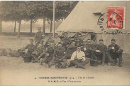 MILITARIA GUERRE 1914 THE DE 5 HEURES FIVE O'CLOCK 4 RAMC AT TEA - Guerre 1914-18