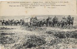 MILITARIA GRANDE GUERRE 1914 AMBULANCE ANGLAISE DE 10 CHEVAUX 1253 - Guerre 1914-18