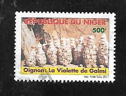 TIMBRE OBLITERE DU NIGER DE 2011 N° MICHEL 2018 - Niger (1960-...)