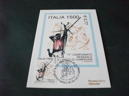 MAXIMUM ITALIA 17° CAMPIONATO MONDIALE TIRO CON L'ARCO DI CAMPAGNA  RINNAUDO - Tir à L'Arc
