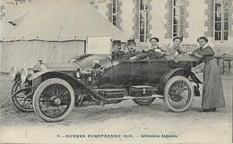 MILITARIA GUERRE 1914 INFIRMIERES ANGLAISES 11 AUTOMOBILE - Guerre 1914-18