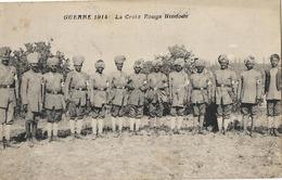 MILITARIA GUERRE 1914 CROIX ROUGE HINDOUE - Guerre 1914-18