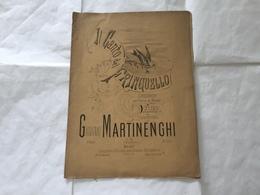 SPARTITO MUSICALE IL CANTO DEL FRINGUELLO VALZER PARCO DI MONZA MARTINENGHI - Partituren