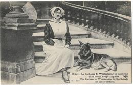 MILITARIA GUERRE 1914 CROIX ROUGE ANGLAISE DUCHESSE DE WESTMINSTER - Guerre 1914-18