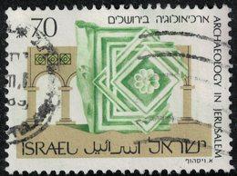 Israël 1989 Oblitéré Used Archéologie à Jérusalem Relief Islamique Du 8è Siècle SU - Israel