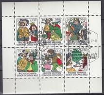 DDR  2281-2286, Kleinbogen, Gestempelt, Märchen: Sechse Kommen Durch Die Ganze Welt 1977 - [6] Oost-Duitsland
