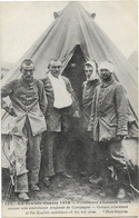 MILITARIA GRANDE GUERRE 1914 AMBULANCE ANGLAISE PRISONNIERS ALLEMANDS 152 PHOT EXPRESS - Guerre 1914-18
