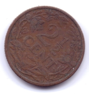 NEDERLAND 1912: 2 1/2 Cent, KM 150 - [ 3] 1815-… : Reino De Países Bajos