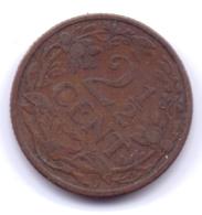 NEDERLAND 1912: 2 1/2 Cent, KM 150 - 2.5 Cent
