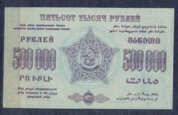 Russia - 1923 - 500 000 R.. Transcaucasia  .P619b..aUNC - Russie