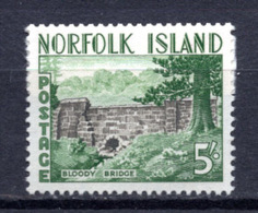 1961 -  NORFOLK ISLAND -  Mi. Nr. 43 - NH - (AS2302.49) - Norfolk Eiland