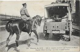 MILITARIA GUERRE 1914 VOITURE DE BLESSES 58 - Guerre 1914-18