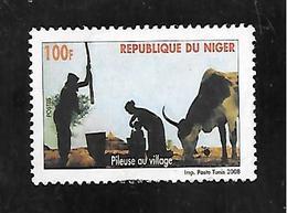 TIMBRE OBLITERE DU NIGER DE 2008 N° MICHEL 2007 - Niger (1960-...)