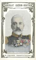CHROMOS - CHOCOLAT GUERIN BOUTRON -  GREGOREWITCH COMMAND' DU CESAREVITCH - Old Paper