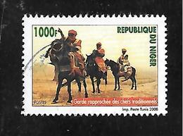 TIMBRE  OBLITERE DU NIGER DE 2008 N° MICHEL 2009 - Niger (1960-...)