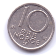 NORGE 1977: 10 Öre, KM 416 - Norvegia