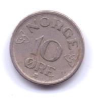 NORGE 1954: 10 Öre, KM 396 - Noorwegen