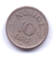 NORGE 1954: 10 Öre, KM 396 - Norvegia