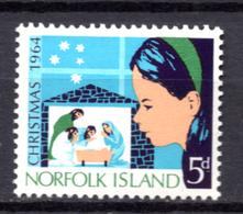 1964 -  NORFOLK ISLAND -  Mi. Nr. 59 - NH - (AS2302.50) - Norfolk Eiland