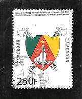 TIMBRE OBLITERE DU CAMEROUN DE 2010 N° MICHEL 1263 - Camerún (1960-...)