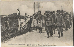 MILITARIA GUERRE 1914 AMBULANCE SERVICE AMERICAN RED CROSS PAUL RAINEY PHOTOGRAPH - Guerre 1914-18