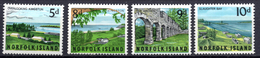 1964 -  NORFOLK ISLAND -  Mi. Nr. 53/56 - NH - (AS2302.50) - Norfolk Eiland
