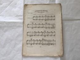 RISORGIMENTO SPARTITO MUSICALE LA BATTAGLIA DI SOLFERINO ANGELO PANZINI. - Partituren