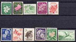 1960/62 -  NORFOLK ISLAND -  Mi. Nr. 26/36 - 2LH+1USED+8NH - (AS2302.50) - Norfolk Eiland