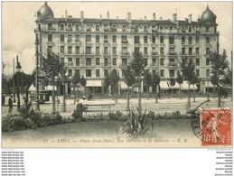 69 LYON. La Maison Et Les Jardins Place Jean Macé 1910 Avec Vespasiennes - Andere