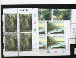 3 Blocs De 4 ( Coin Daté De La Polynésie *** ) - Stamps