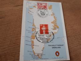 Postcard - Greenland, Mix Frankature         (V 34621) - Greenland